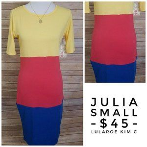 LuLaRoe Julia Dress (S)